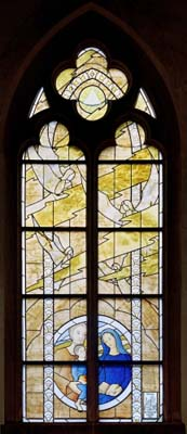 Fenster in St. Pantaleon, Köln